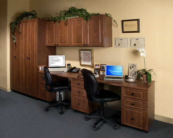 Office space and organization from Mountain Home, Arkansas