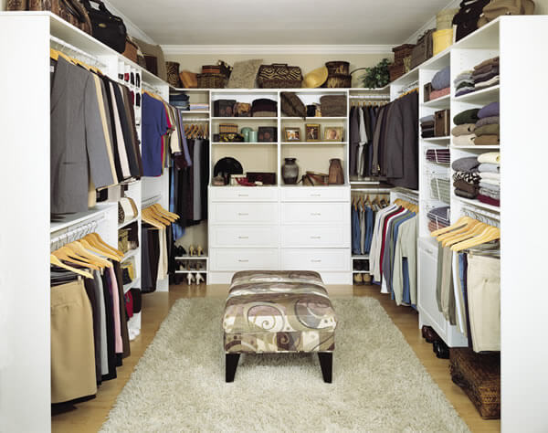 MasterSuite custom storage solutions for your closets.